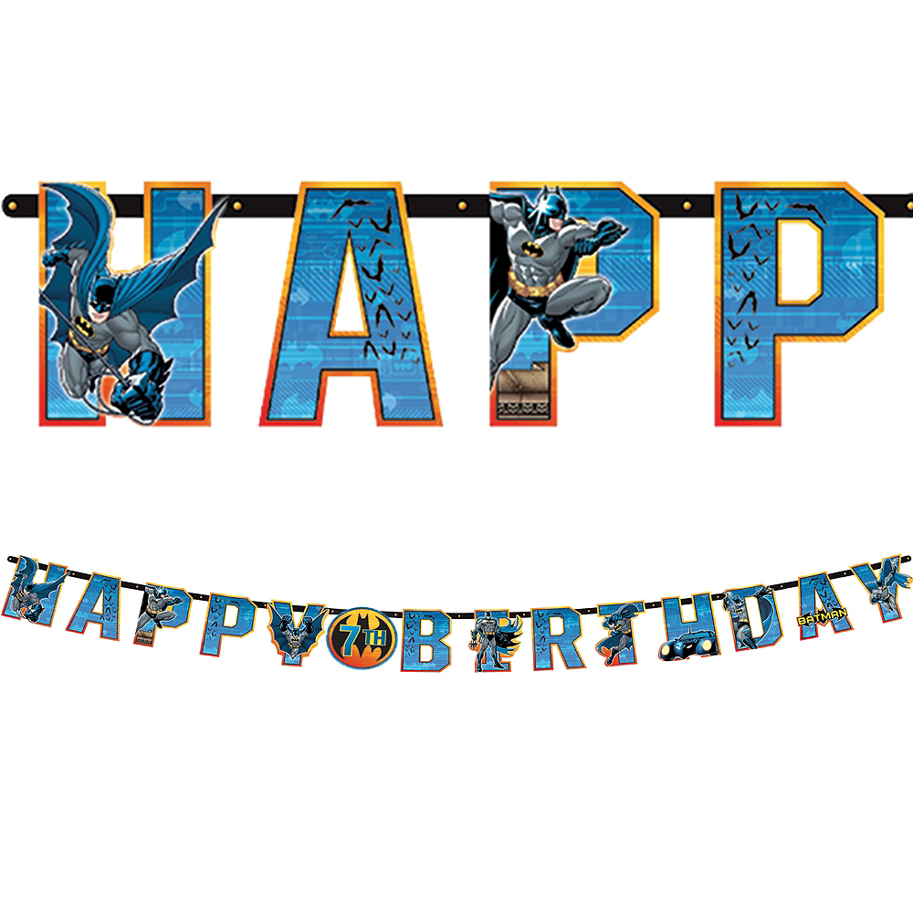 Batman Birthday Banner Image #1