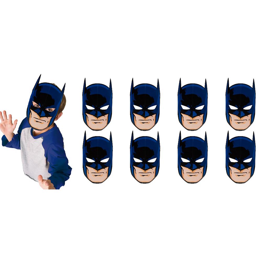 Batman Masks 8ct Image #1