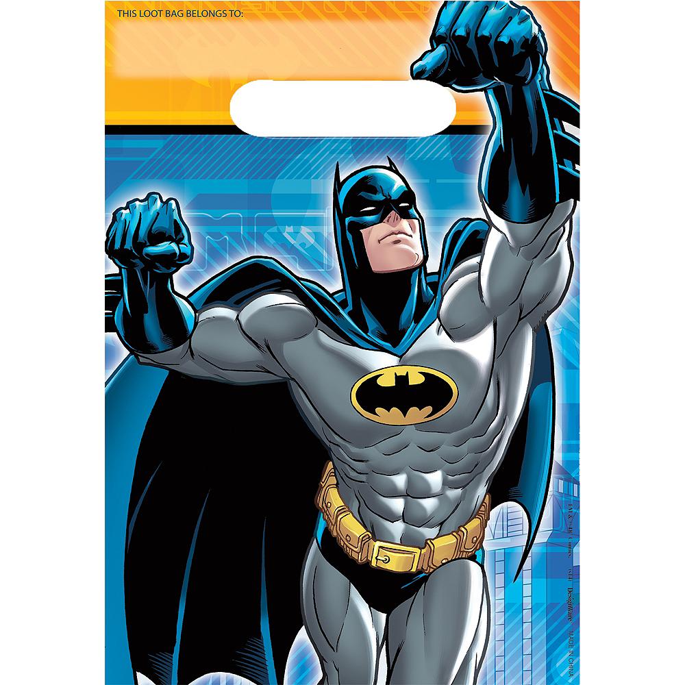Batman Favor Bags 8ct Image #1
