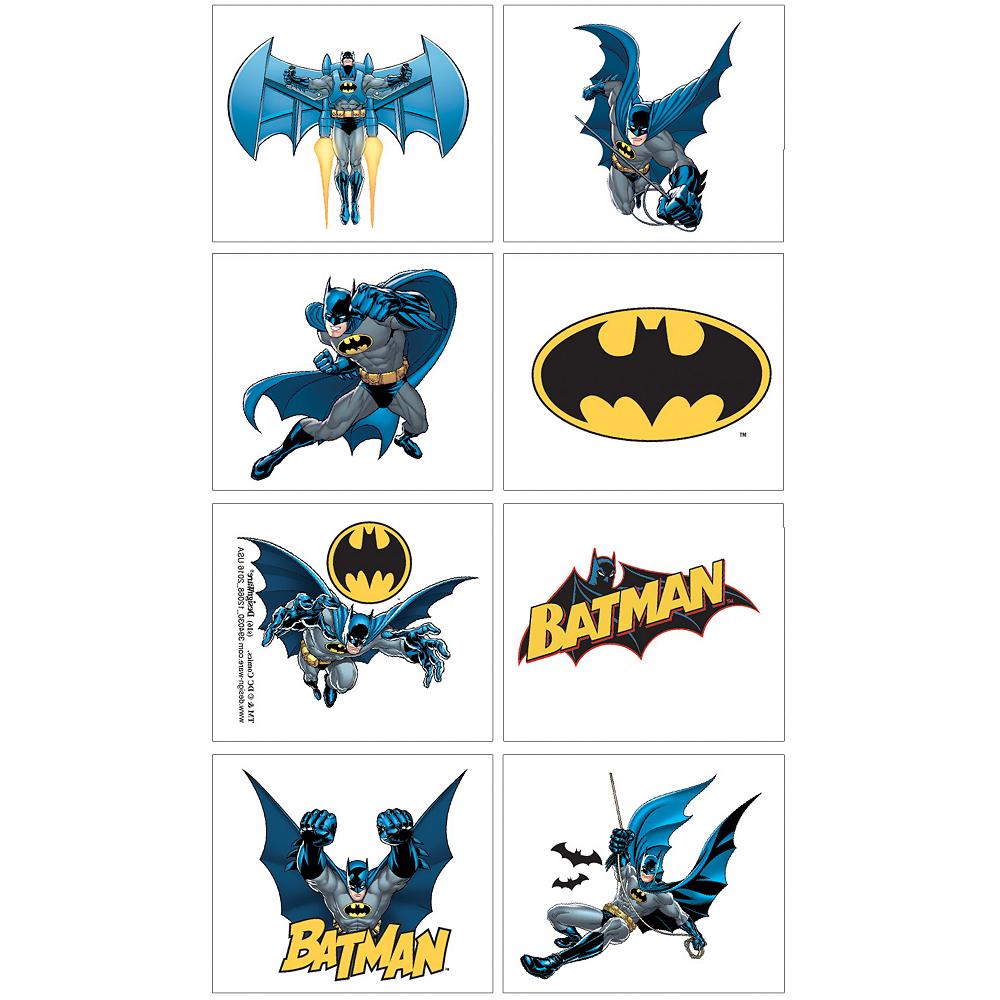 Batman Tattoos 1 Sheet | Party City