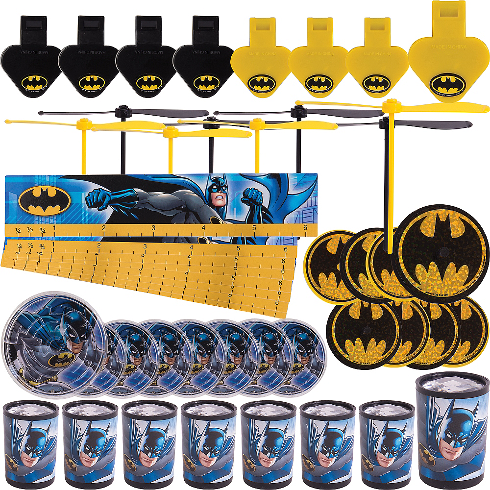 Batman Favor Pack 48ct Image #1