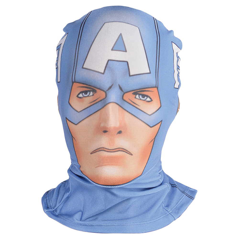 Captain America Partysuit Mask Image #1