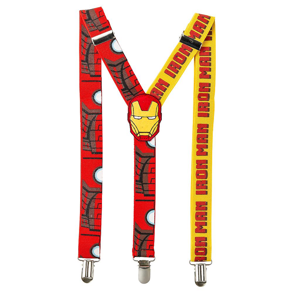 Iron Man Suspenders Image #1