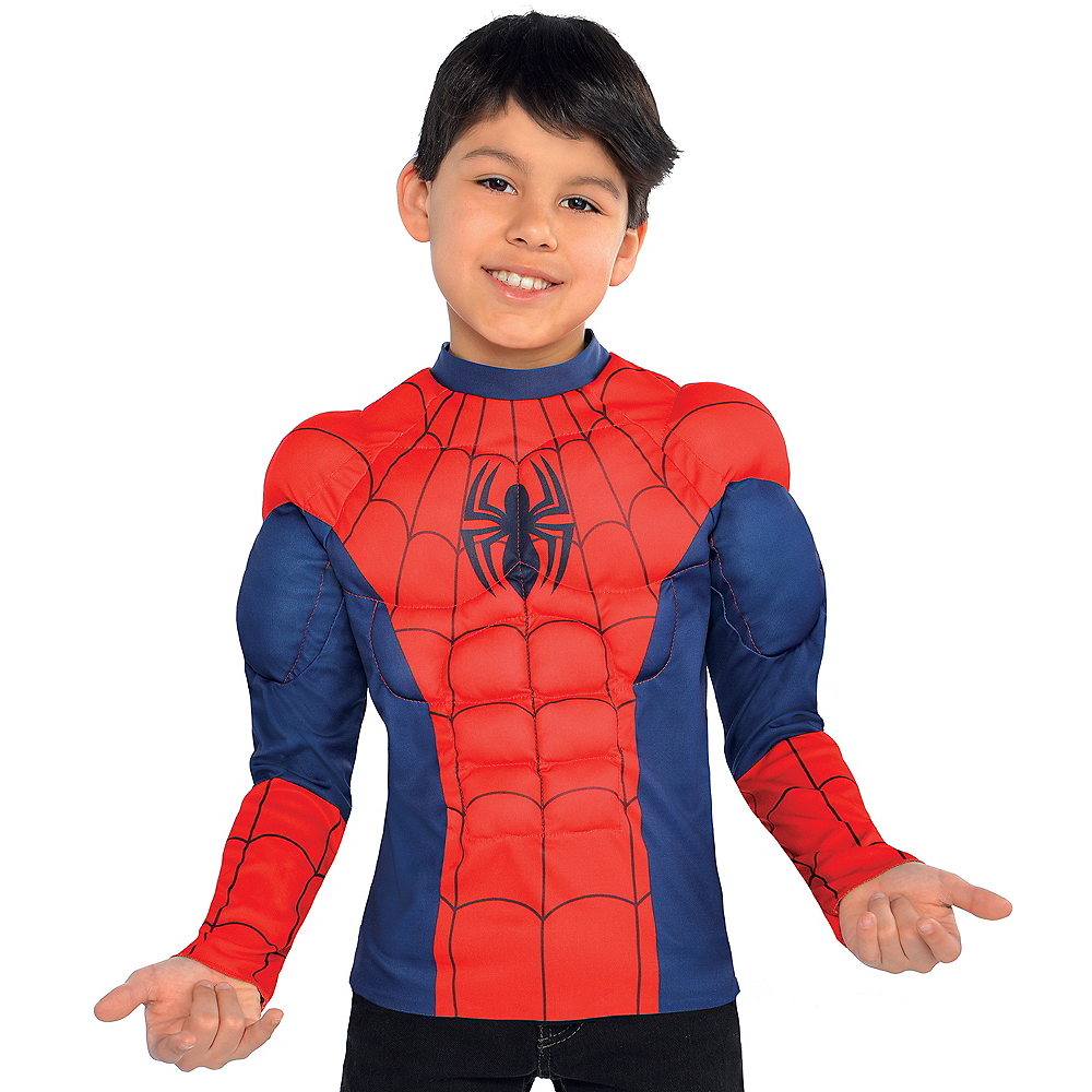 Child Spider-Man Muscle Shirt Image #1