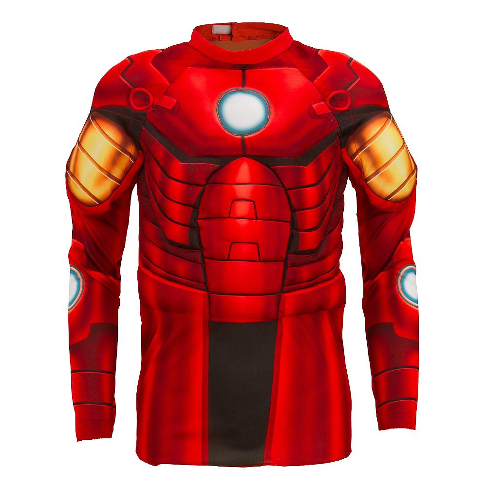 Child Iron Man Muscle Shirt Image #1