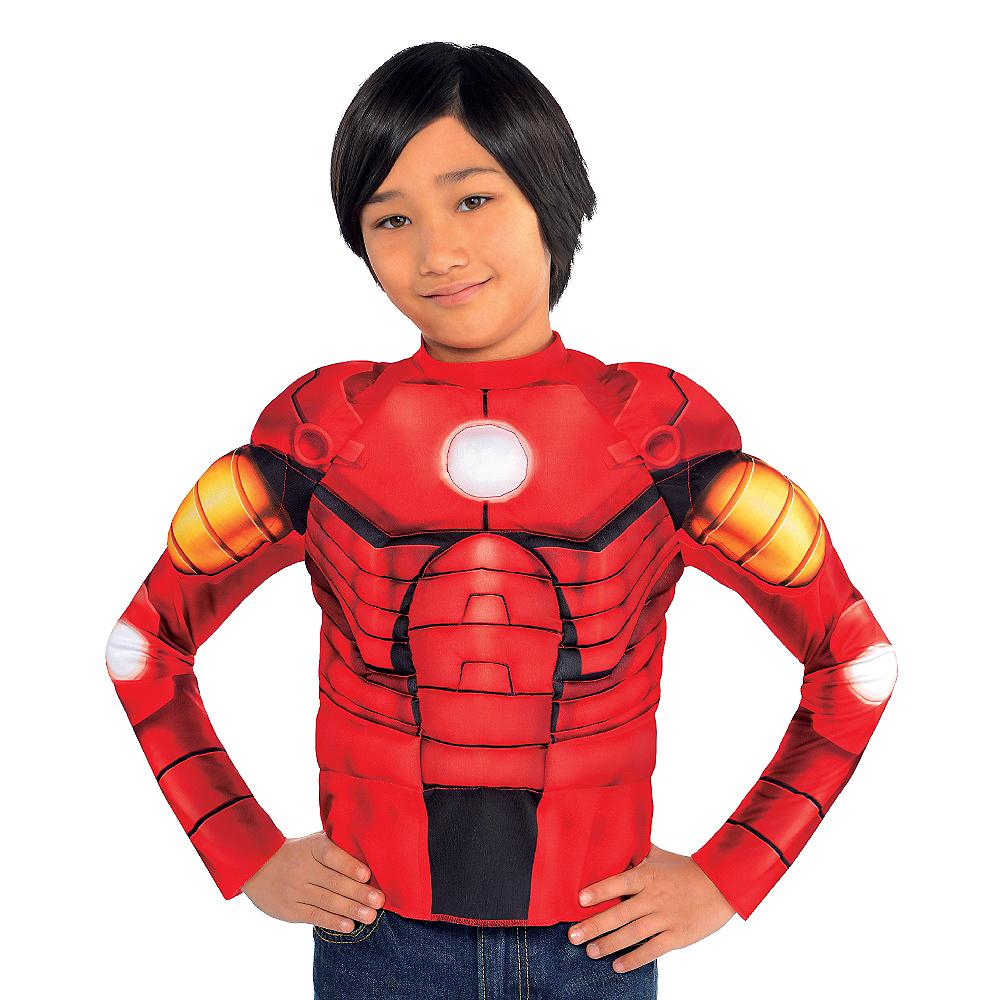 Child Iron Man Muscle Shirt Image #2