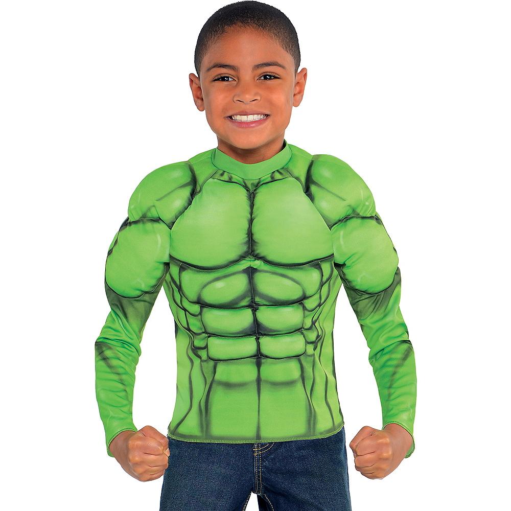Child Hulk Muscle Shirt Image #1