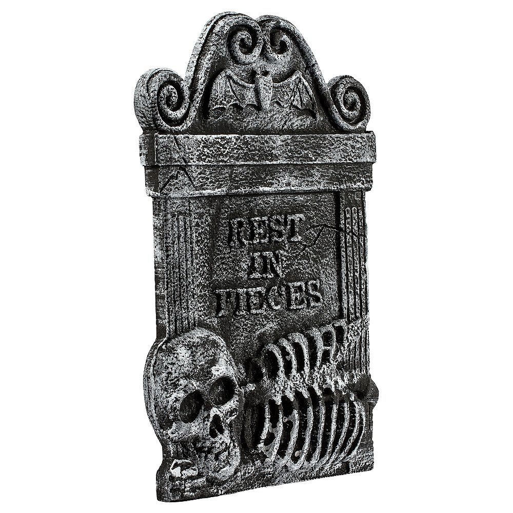 Nav Item for Rest in Pieces Skeleton Tombstone Image #1