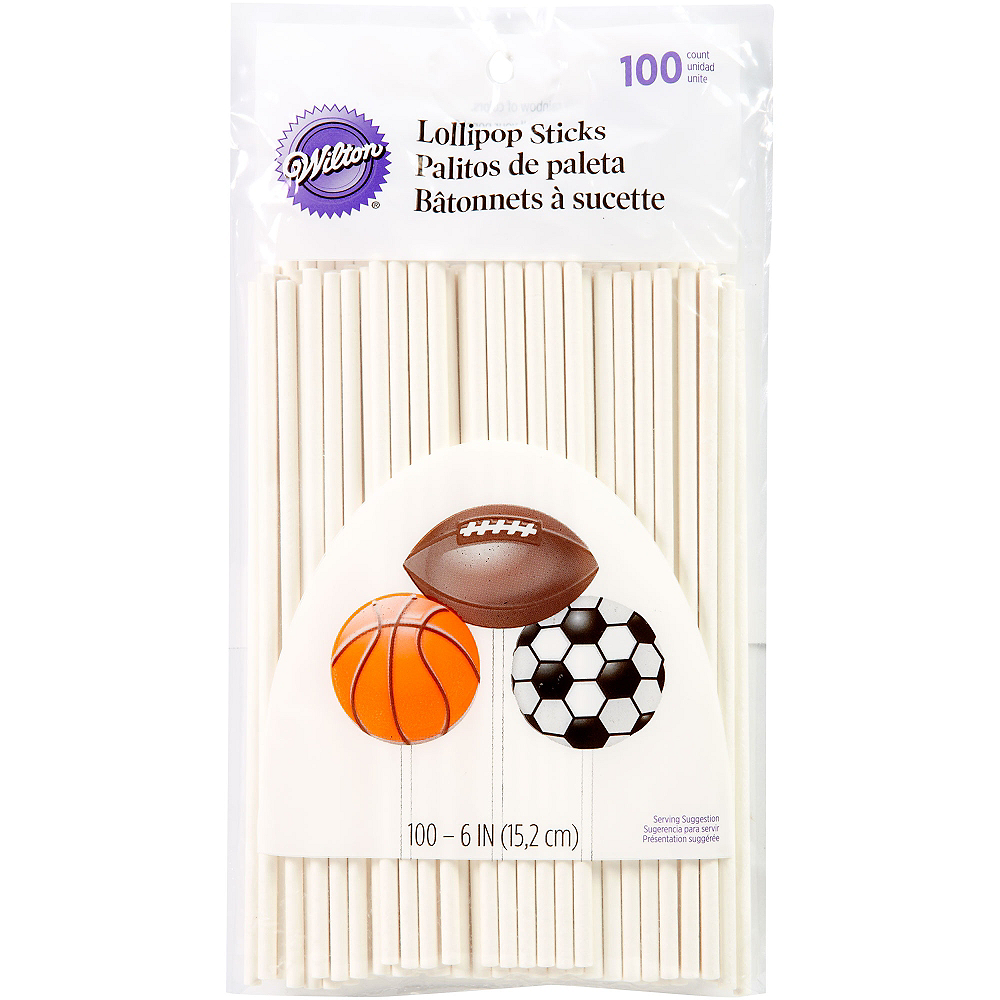 Nav Item for Wilton Lollipop Sticks 100ct Image #1