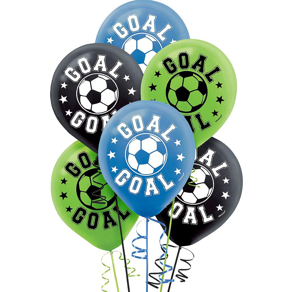 Soccer Balloons 6ct Image #1