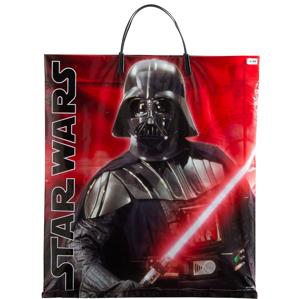 Darth Vader Trick or Treat Bag - Star Wars Image #1