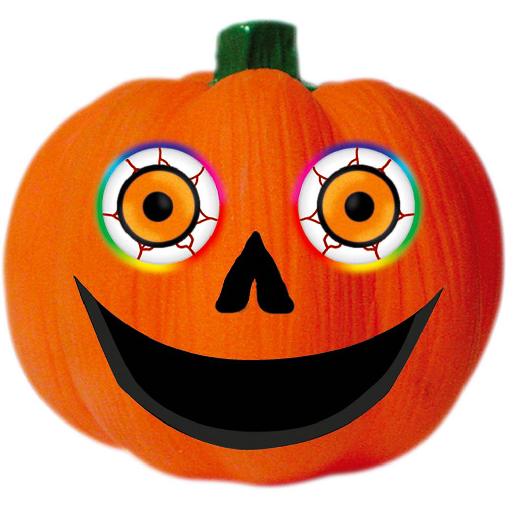 Light-Up Color Changing Pumpkin Eyeballs 2ct Image #2