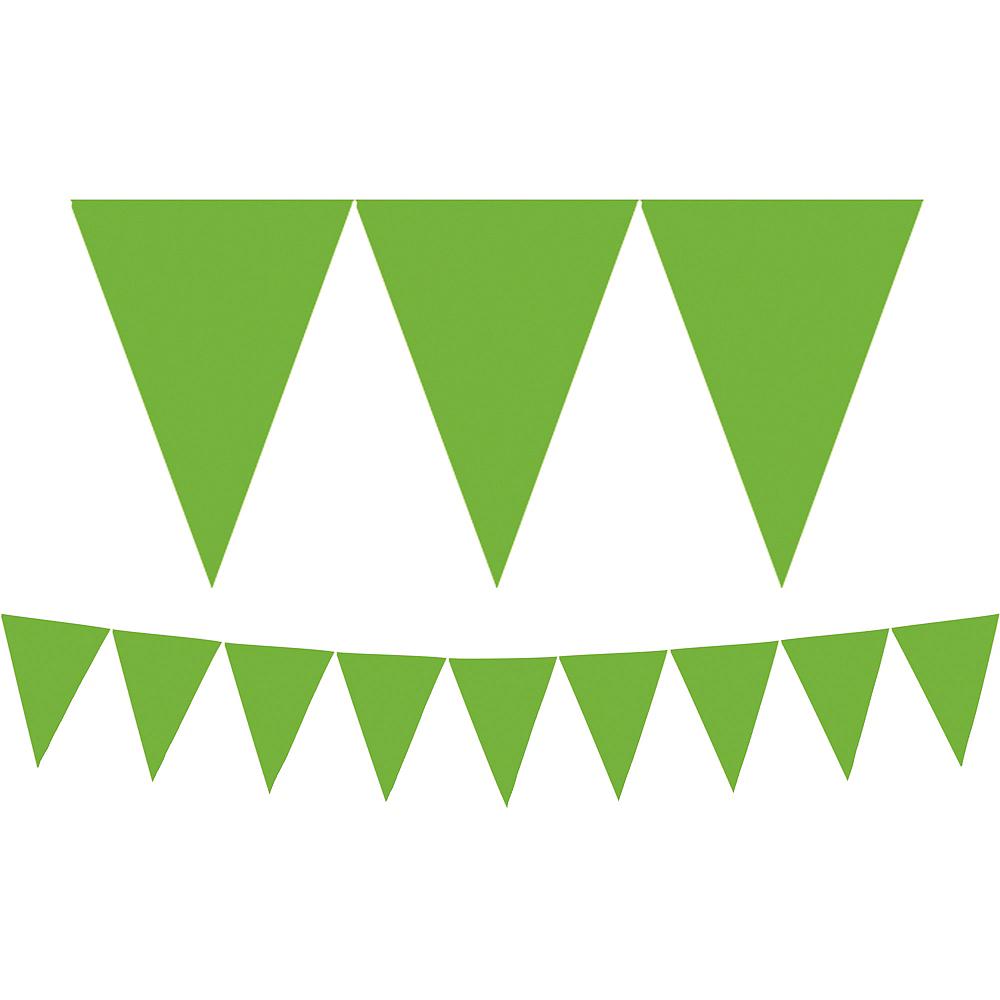 Kiwi Green Pennant Banner Image #1