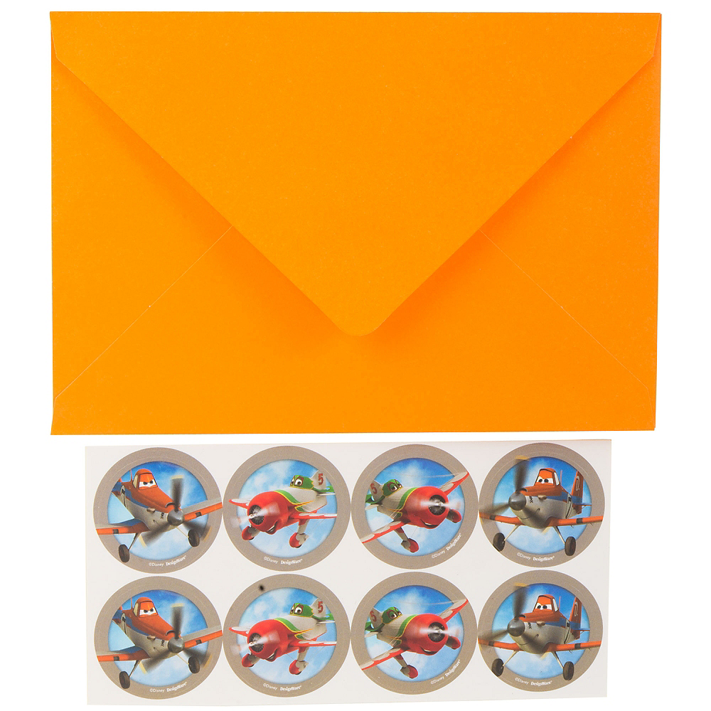 Planes Thank You Notes 8ct Image #3
