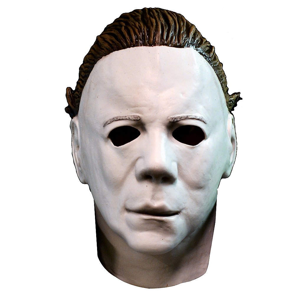 Michael Myers Mask Halloween 1.Michael Myers Mask With Hair Halloween Ii