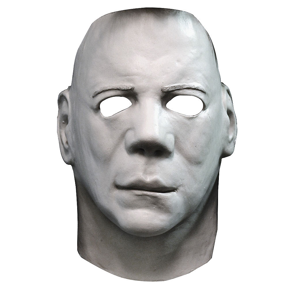 Halloween City Halloween 2020 Michael Myers Mask Latex Michael Myers Face Mask   Halloween II | Party City