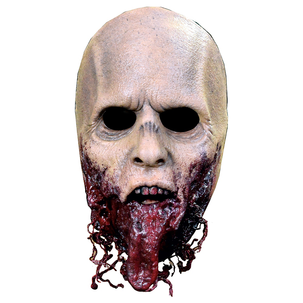 Jawless Zombie Mask - The Walking Dead Image #1