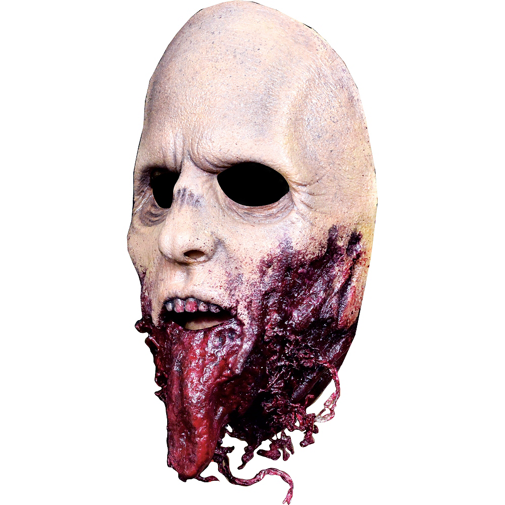 Jawless Zombie Mask - The Walking Dead Image #2