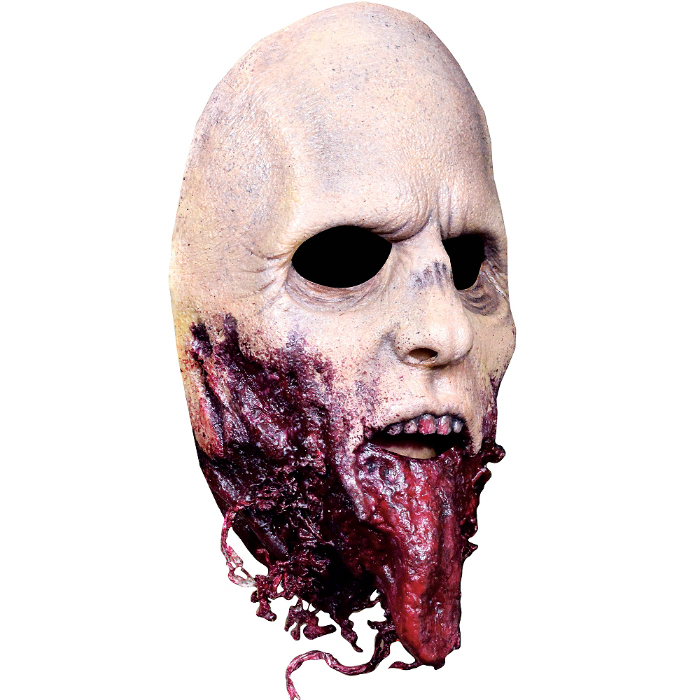 Jawless Zombie Mask - The Walking Dead Image #3