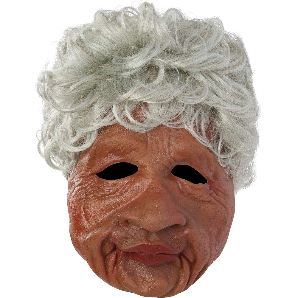 Auntie Old Lady Mask Image #1