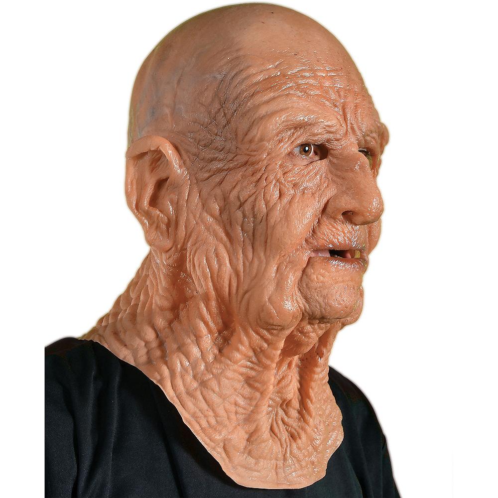 Dead on Arrival Old Man Mask Image #2