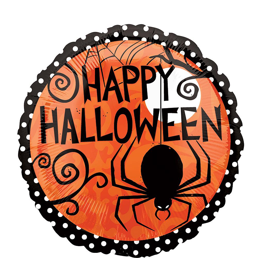 Frightfully Fancy Halloween Balloon, 17in Image #1