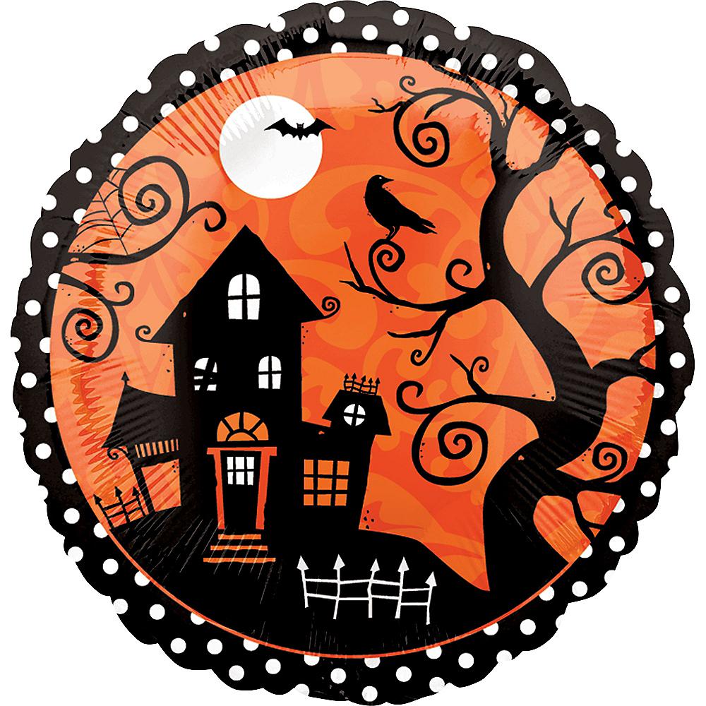 Frightfully Fancy Halloween Balloon, 17in Image #2