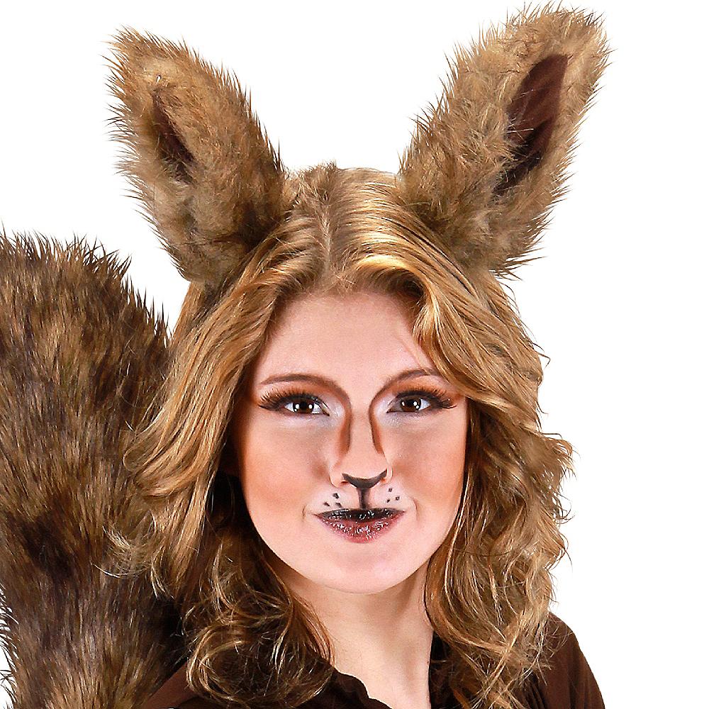 Oversized Brown Squirrel Ears Deluxe Image #2