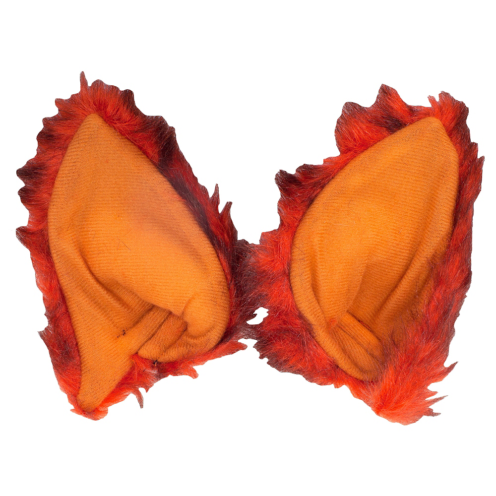 Oversized Red Fox Ears Image #1