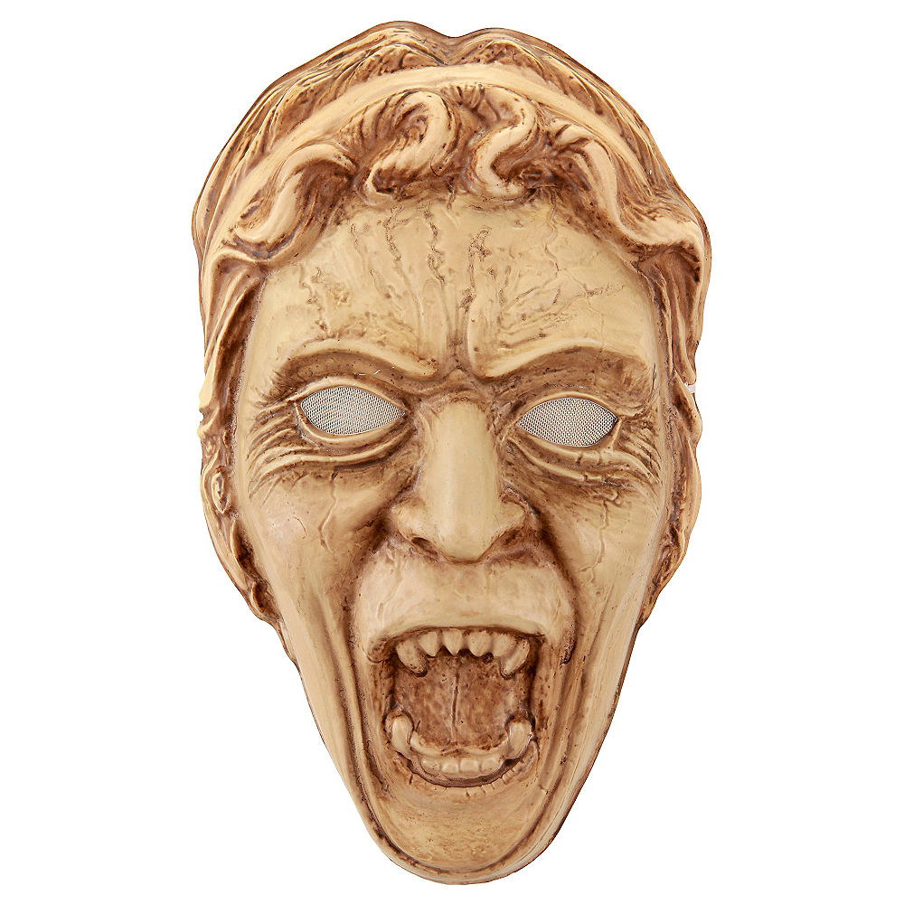 Dr. Who Weeping Angel Mask Image #1