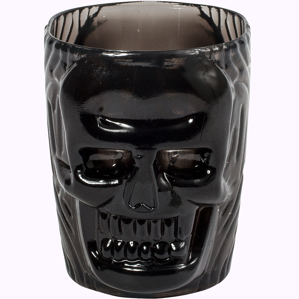 Black Skull Shot Glasses 4ct Image #2