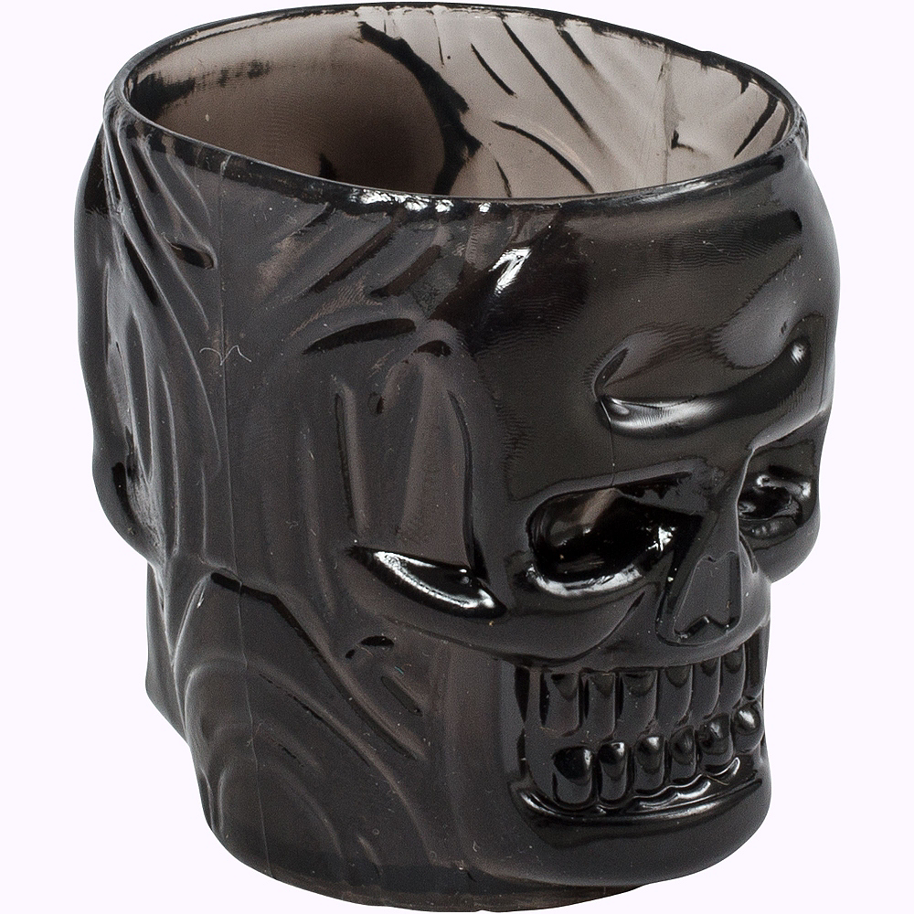 Black Skull Shot Glasses 4ct Image #3