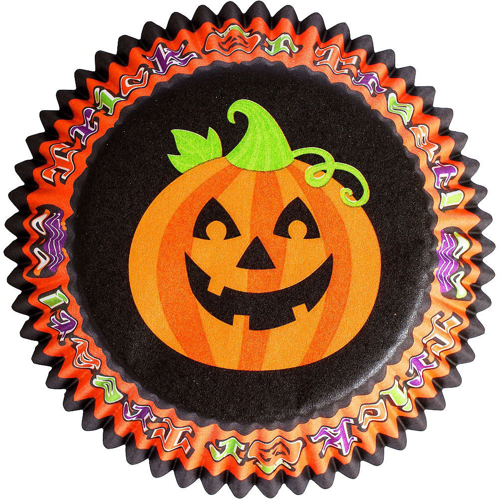 Cute Halloween Baking Cups 75ct Image #2