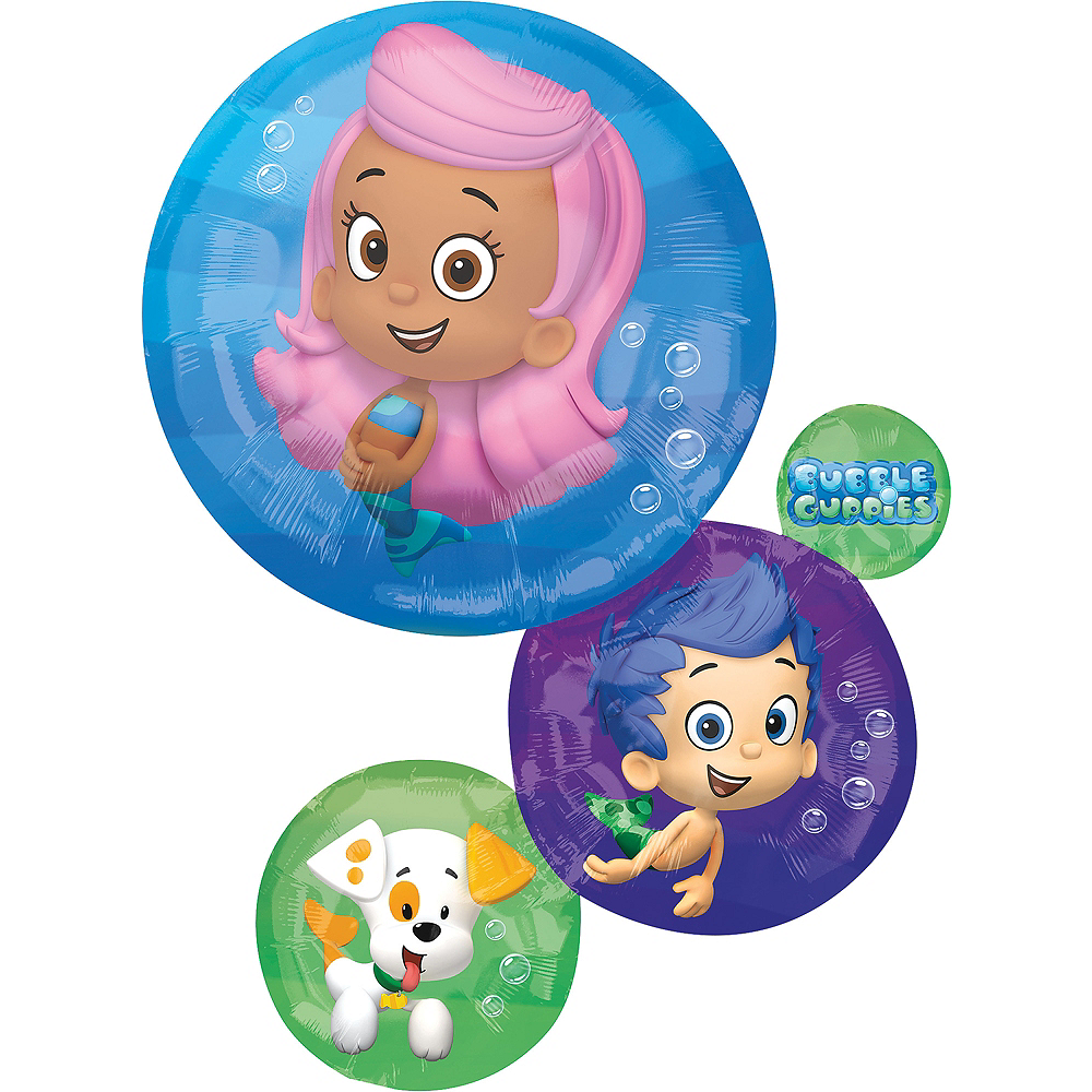 Bubble Guppies Balloon, 28in Image #1