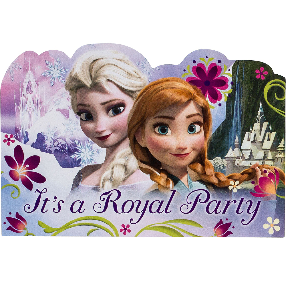 Frozen Invitations 8ct Image #1