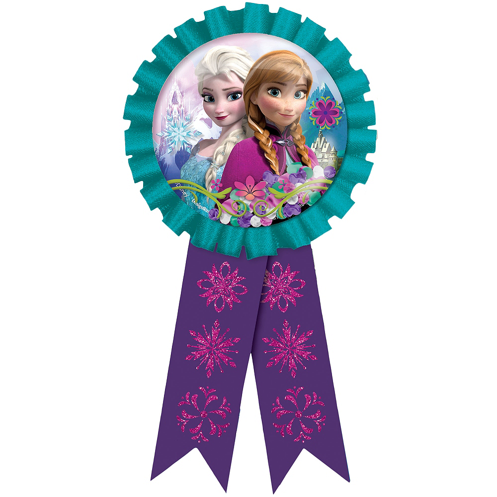 Frozen Award Ribbon Image #1
