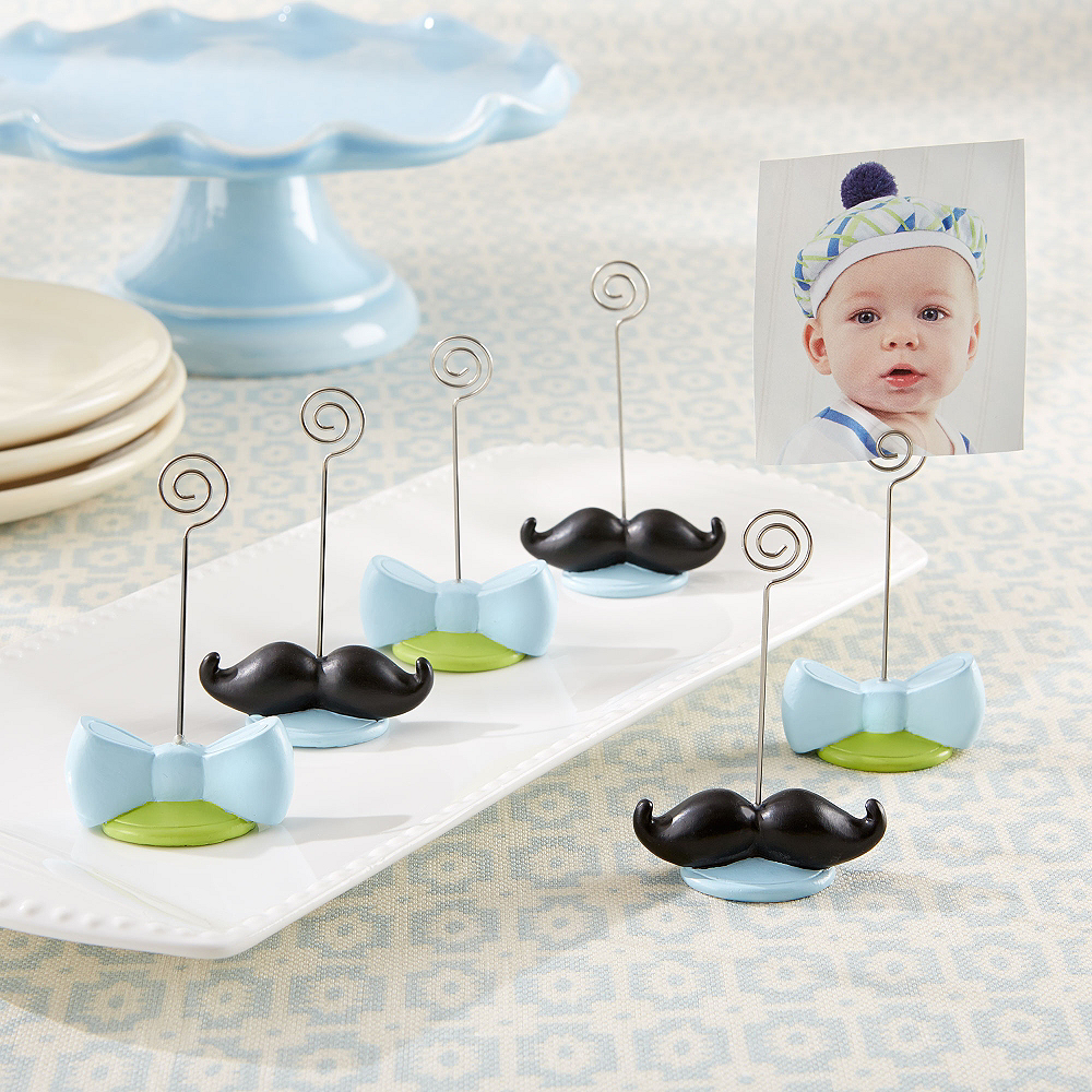My Little Man Place Card Holders 4ct Image #1