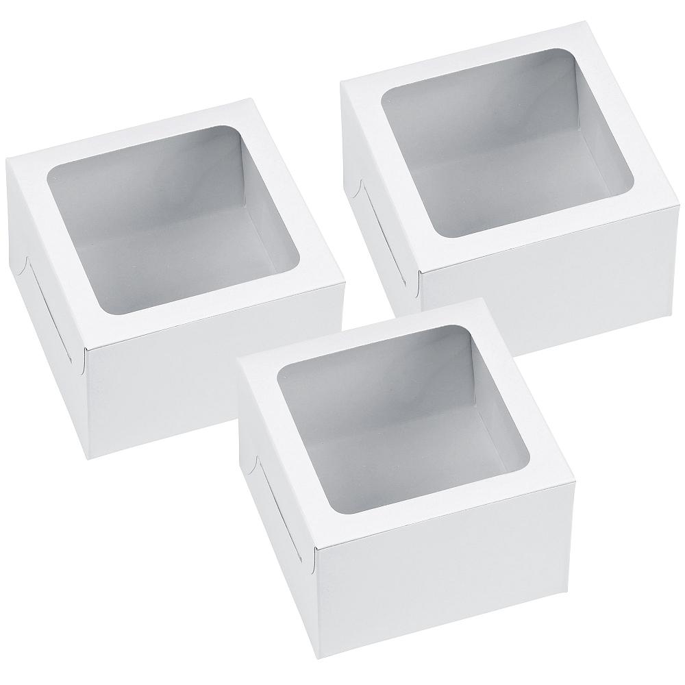 Wilton White Individual Cupcake Boxes 3ct Image #1