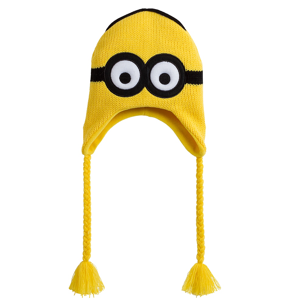 3527a735c7ee2 Nav Item for Two-Eyed Minion Peruvian Hat - Despicable Me Image  1 ...