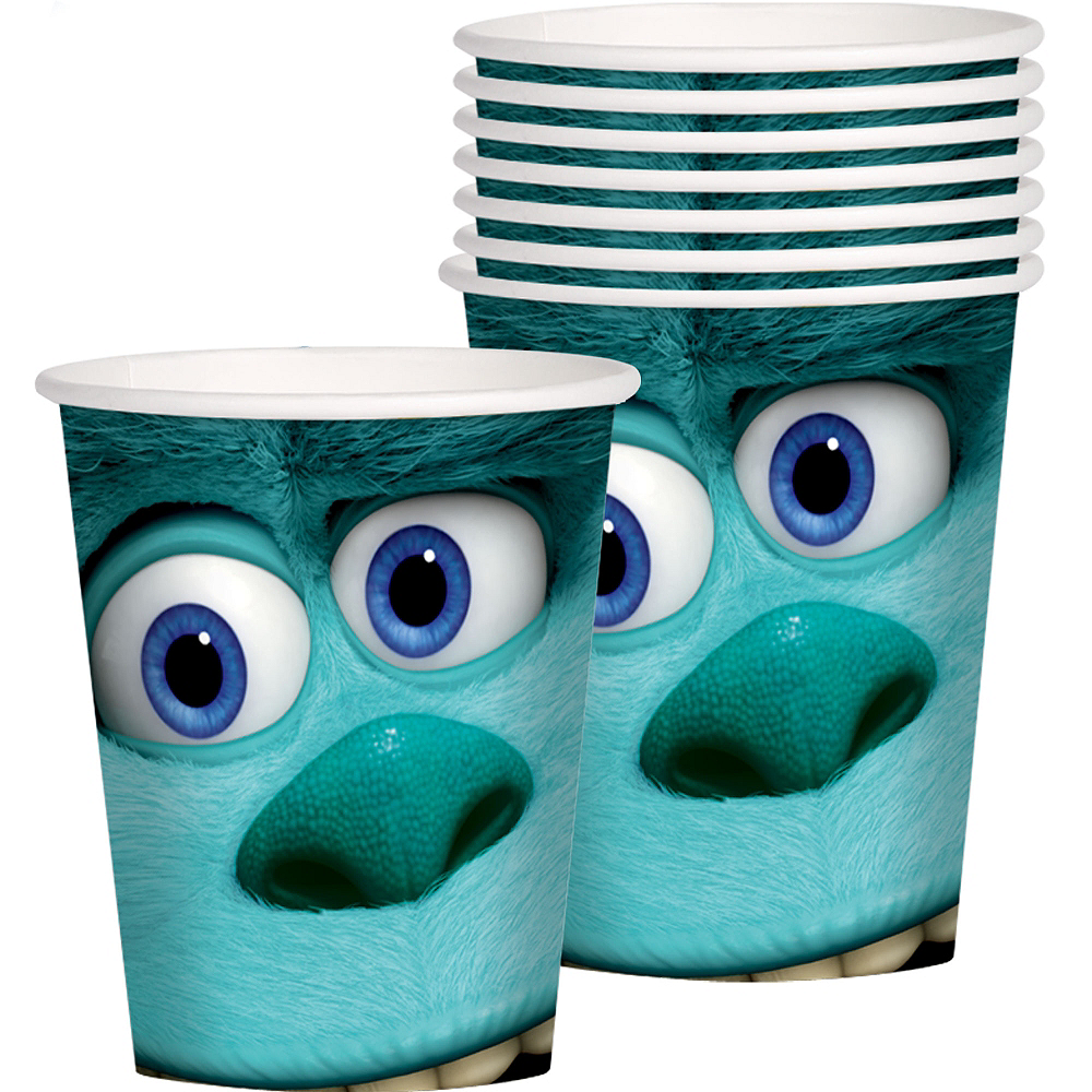 Monsters University Cups 8ct Image #1