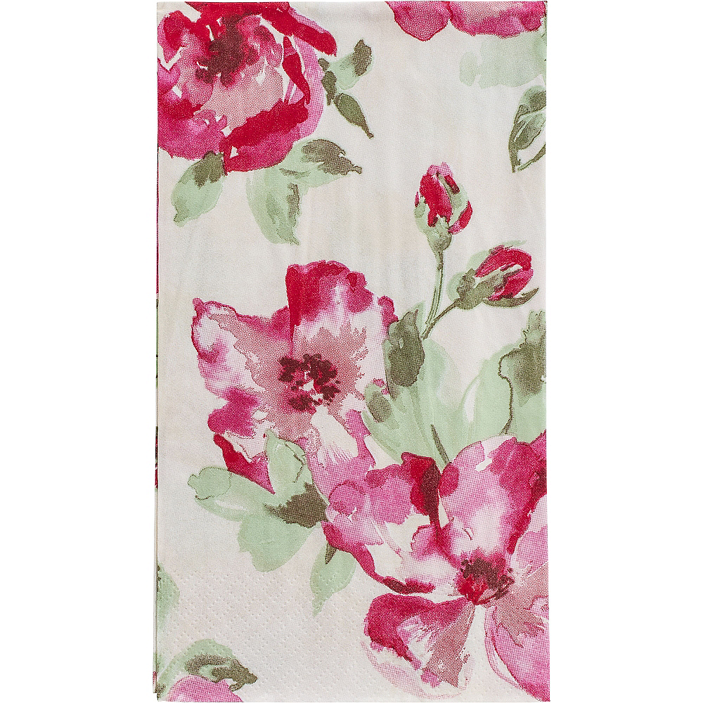 English Rose Guest Towels 16ct Image #1