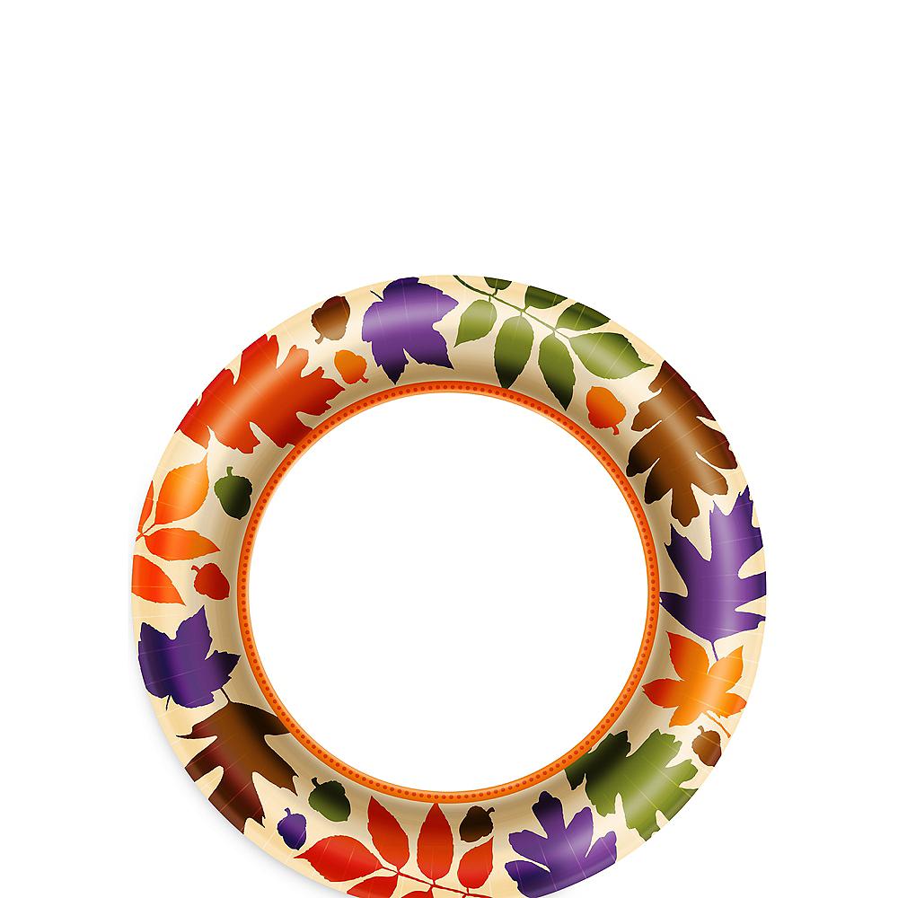 Autumn Warmth Dessert Plates 40ct Image #1