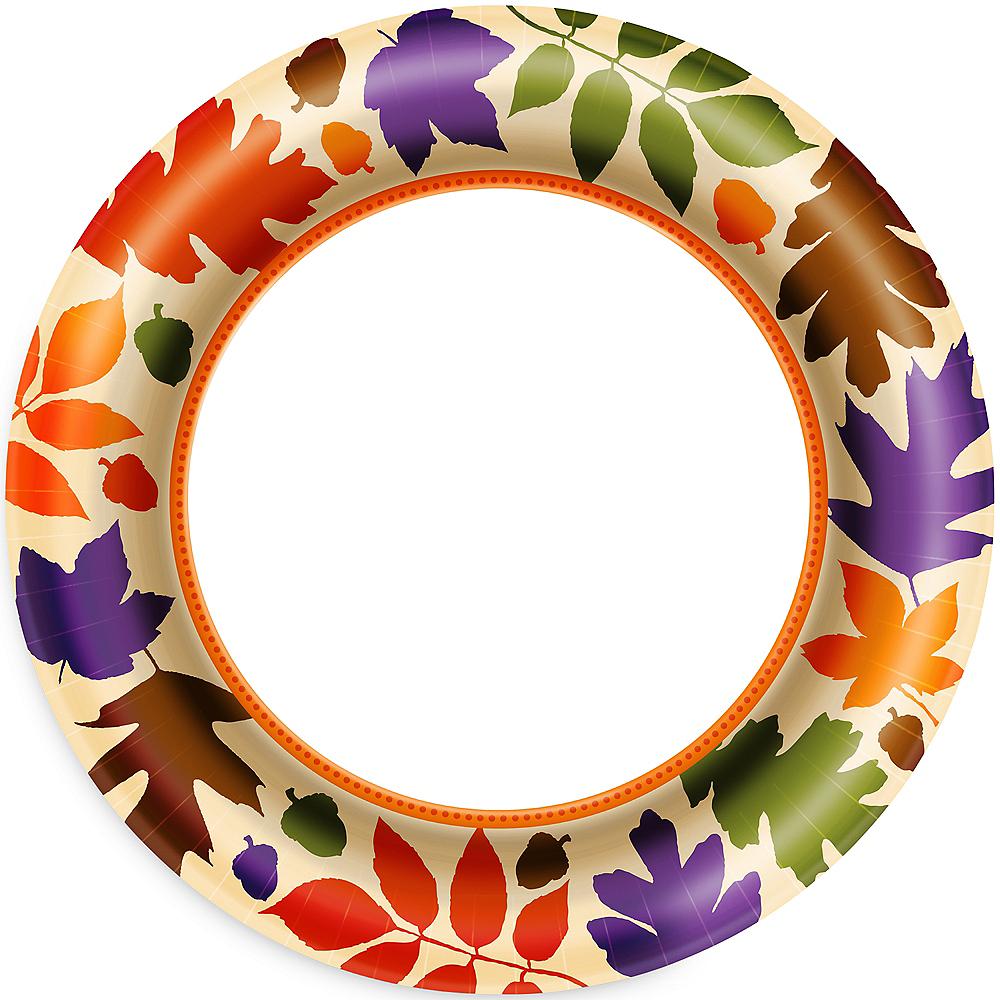 Autumn Warmth Dinner Plates 40ct Image #1
