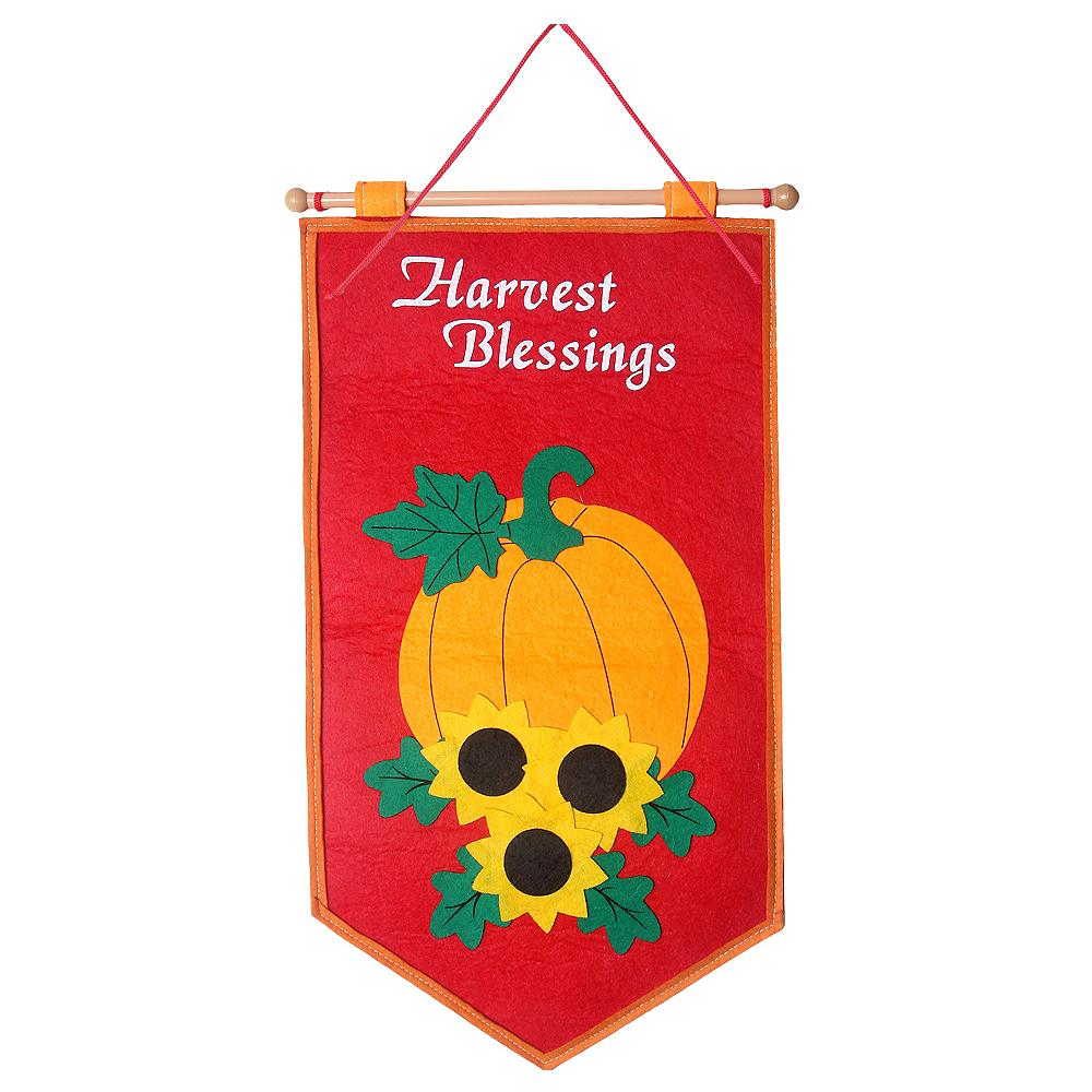 Felt Harvest Blessings Sign Image #1