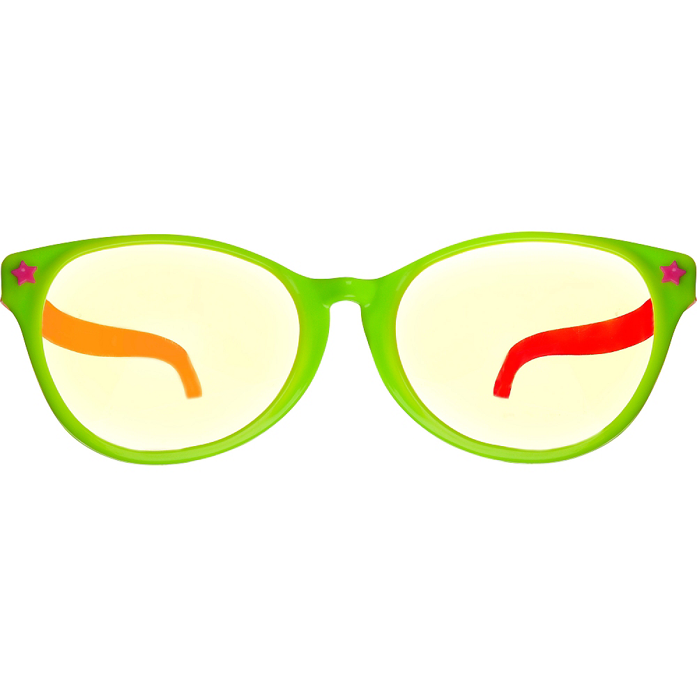 Nav Item for Black Light Neon Fun Glasses Image #1