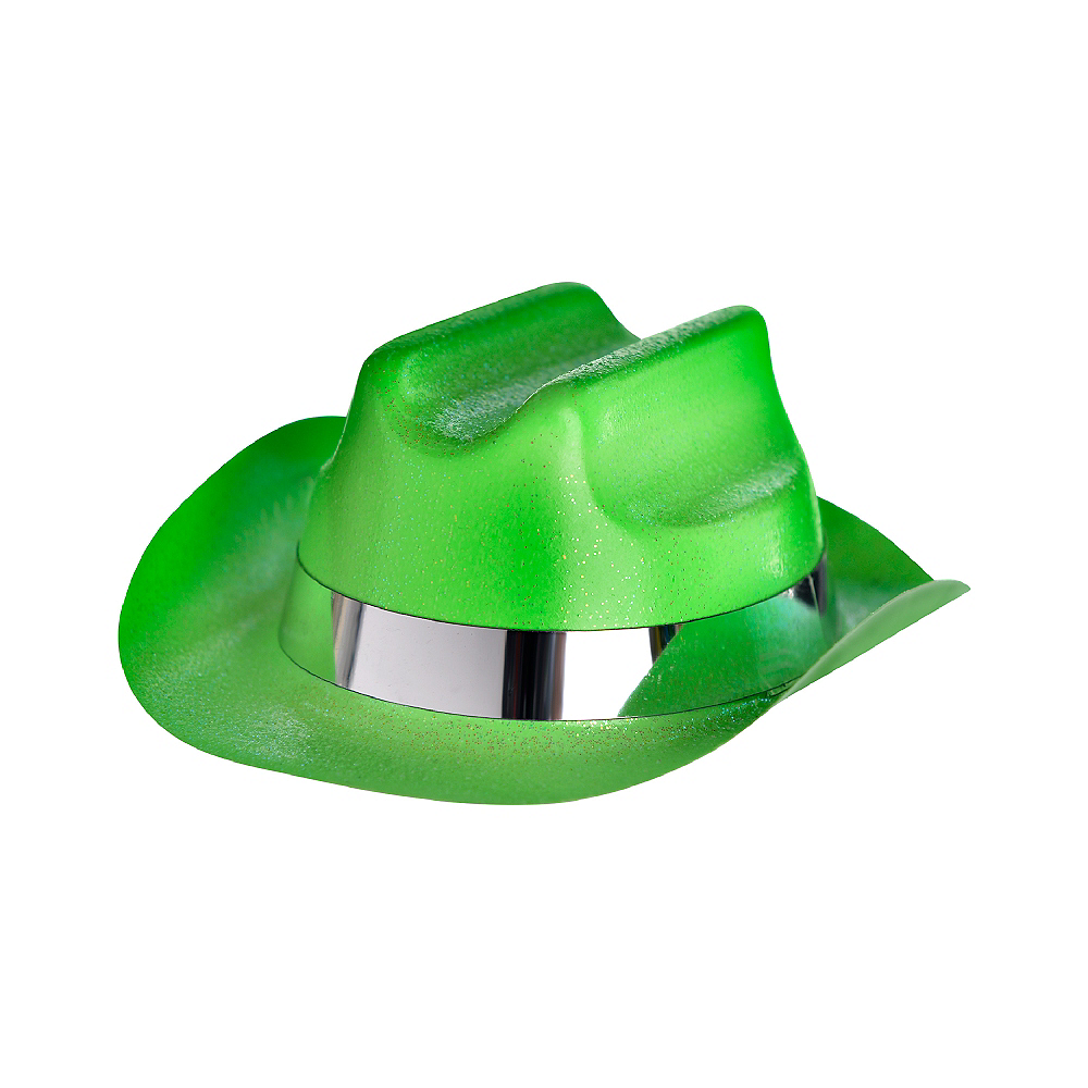 Nav Item for Neon Glitter Mini Cowboy Hat Image #2