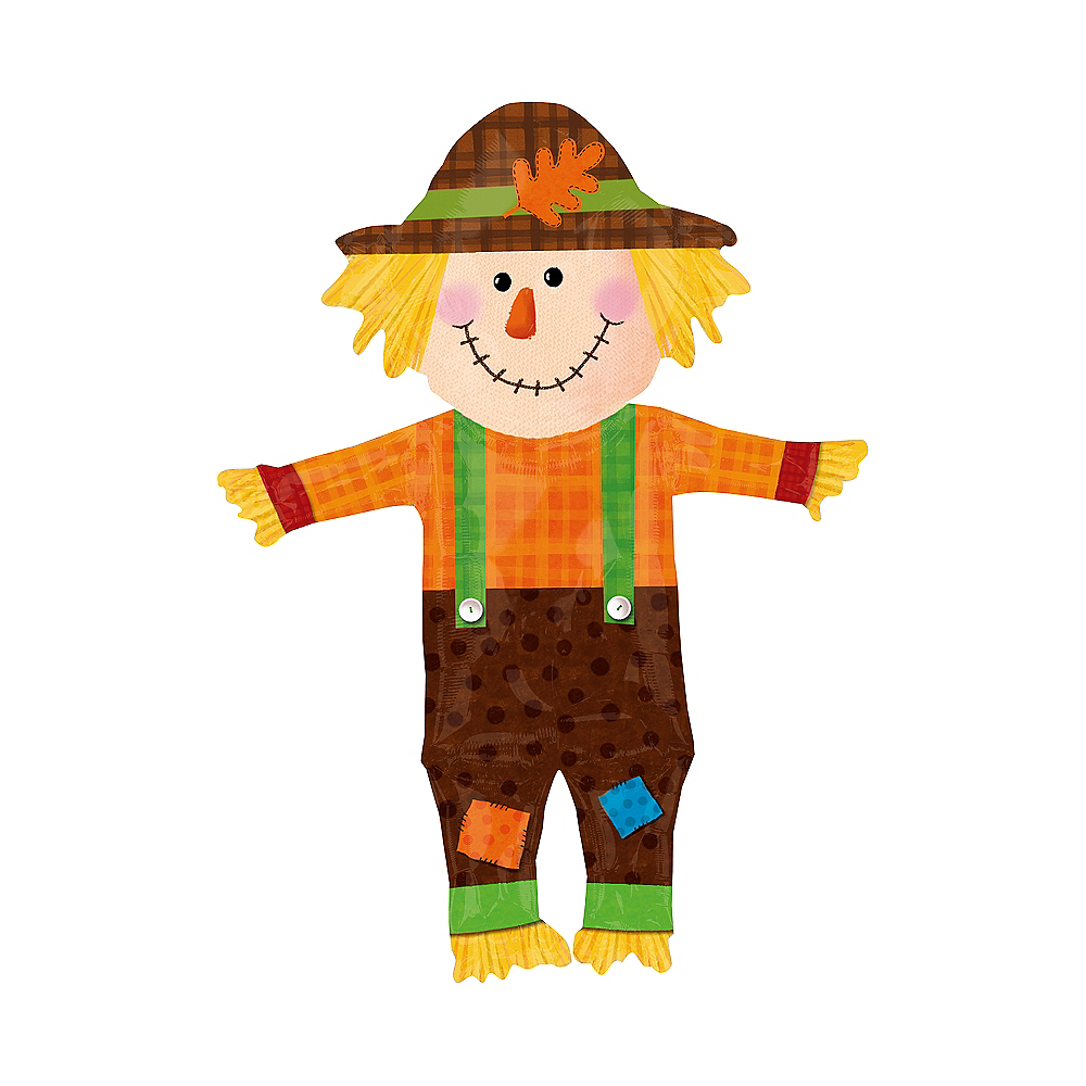 Happy Scarecrow Balloon - Giant, 38in Image #1