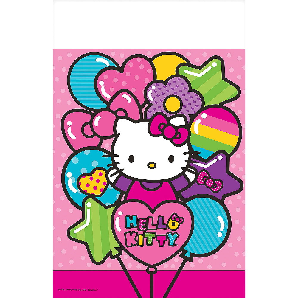 Rainbow Hello Kitty Table Cover Image #2