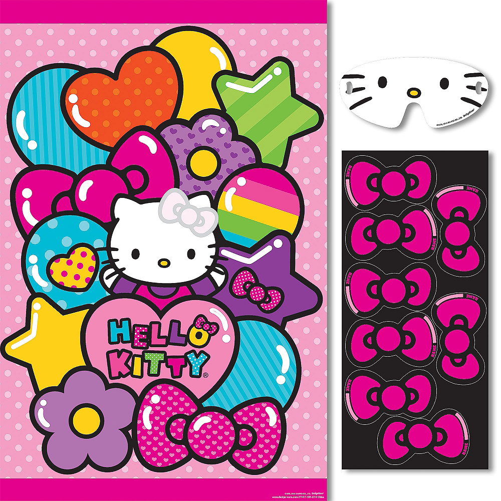 Rainbow Hello Kitty Party Game Image #1