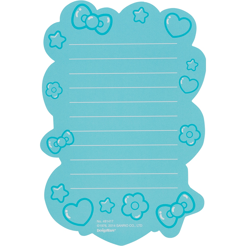 Rainbow Hello Kitty Thank You Notes 8ct  Image #2